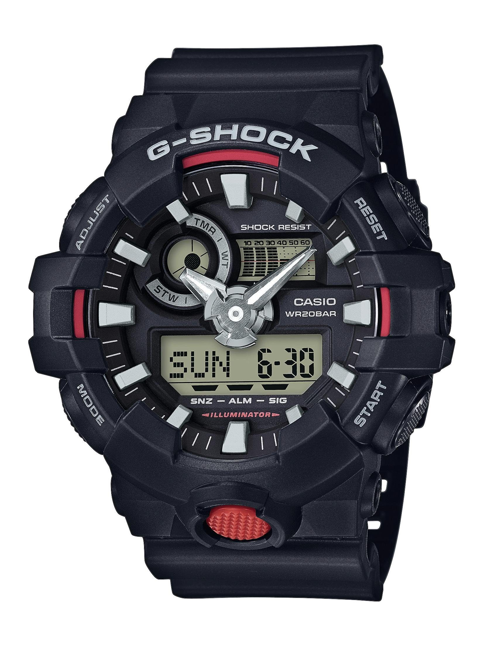 CASIO G-SHOCK Chronograph »GA-700-1AER«