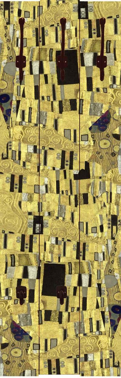 Home affaire Garderobe »Klimt, Gustav: Der Kuß«, 45/140 cm