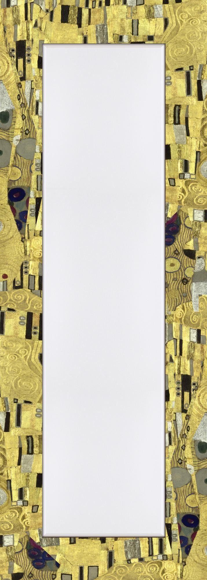 Home affaire Spiegel im Designerrahmen »Klimt, Gustav: Der Kuß«, 50/140 cm