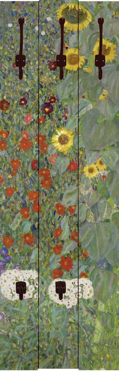 Home affaire Garderobe »Klimt, G.: Garten mit Sonnenblumen«, 45/140 cm