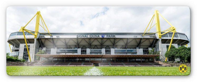 Glasbild »BVB - Signal Iduna Park«, 80/30 cm