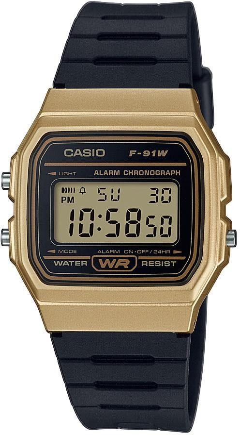 Casio Collection Chronograph »F-91WM-9AEF«