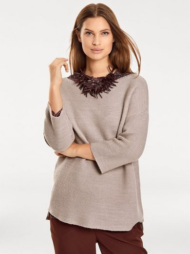 B.C. BEST CONNECTIONS by Heine Oversized-Pullover Grobstrick