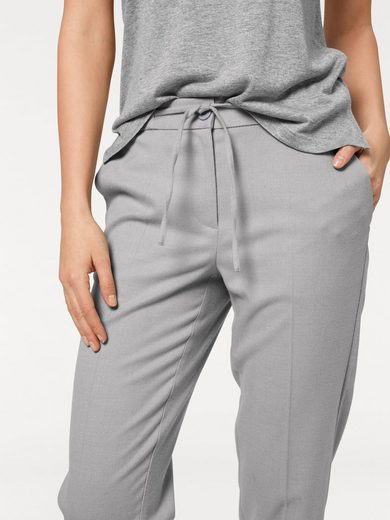 Rick Cardona By Heine Jogging Pants With Elastic Cuffs And Binding Tape