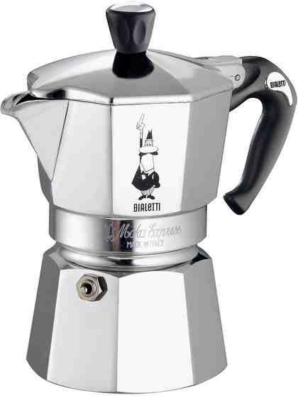 BIALETTI Espressokocher, Aluminium, Silikon-Griff, 6 Tassen, »MOKA EXPRESS«