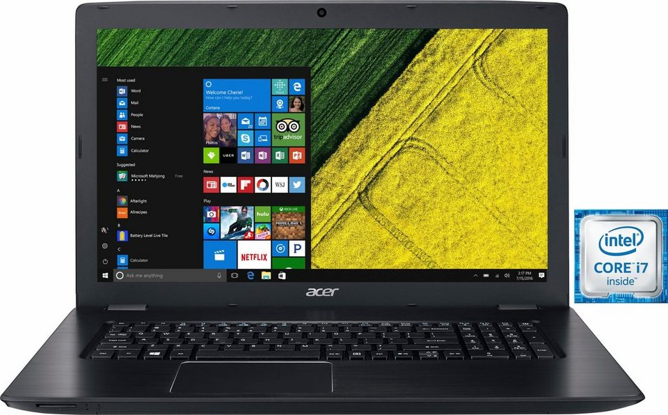 acer aspire e5 774g 73jz notebook intel core i7 43 9. Black Bedroom Furniture Sets. Home Design Ideas