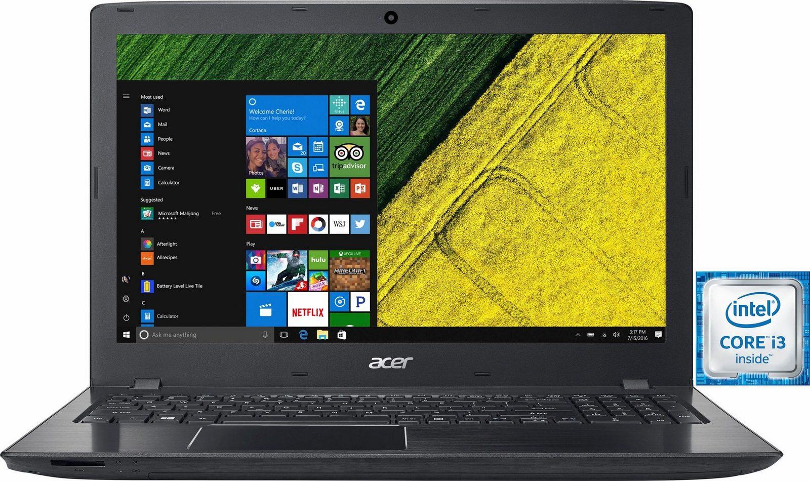 Acer Aspire E5-575G-35RS Notebook, Intel Core i3, 39,6 cm (15,6 Zoll), 1000 GB Speicher