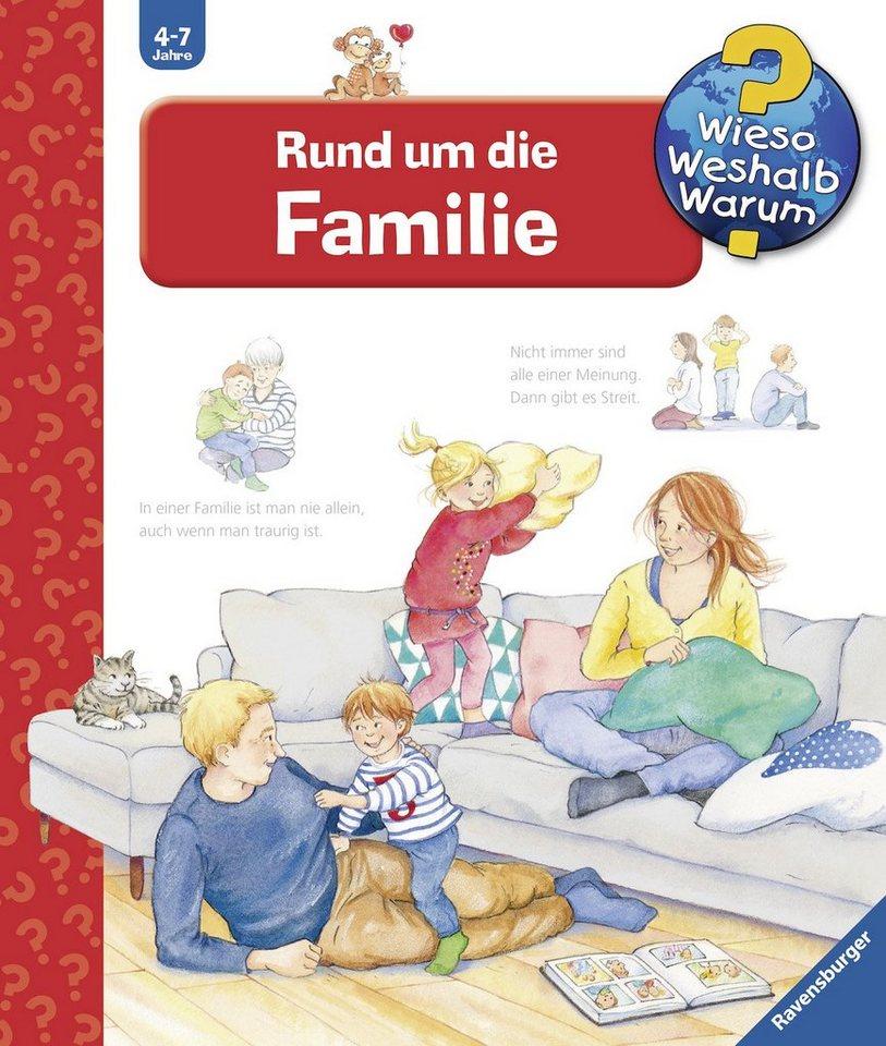 ravensburger kinderbuch rund um die familie wieso. Black Bedroom Furniture Sets. Home Design Ideas