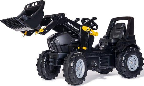 rolly toys® Trettraktor »rollyFarmtrac Deutz-Fahr Warrior«, mit Frontlader