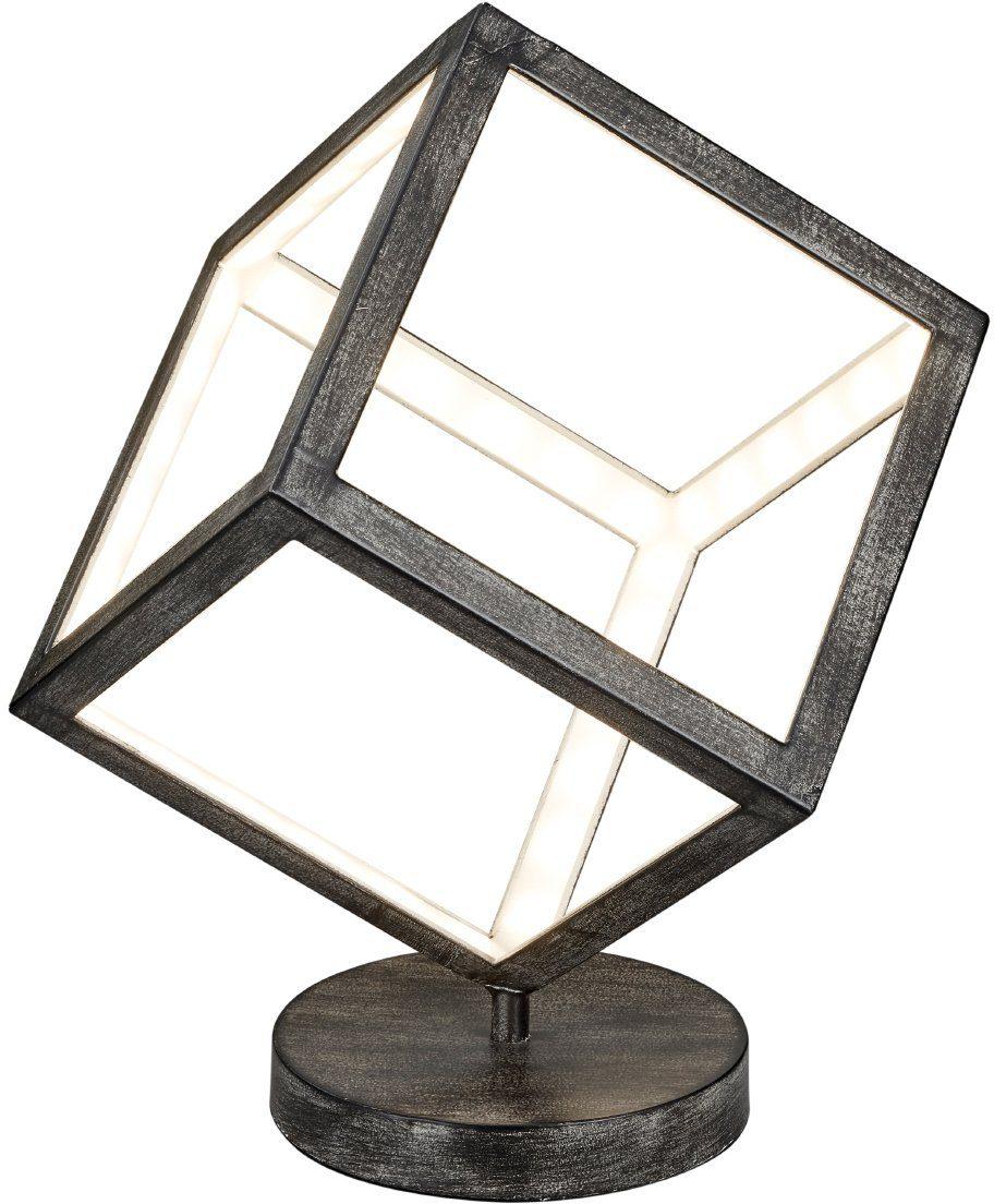 TRIO Leuchten LED Tischleuchte »DICE«, 1-flammig