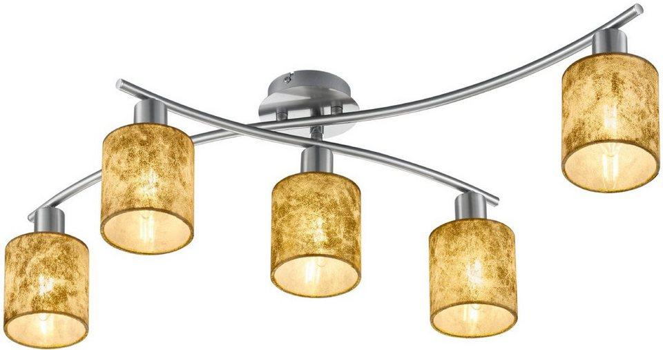 trio leuchten deckenleuchte 5 flammig garda otto. Black Bedroom Furniture Sets. Home Design Ideas