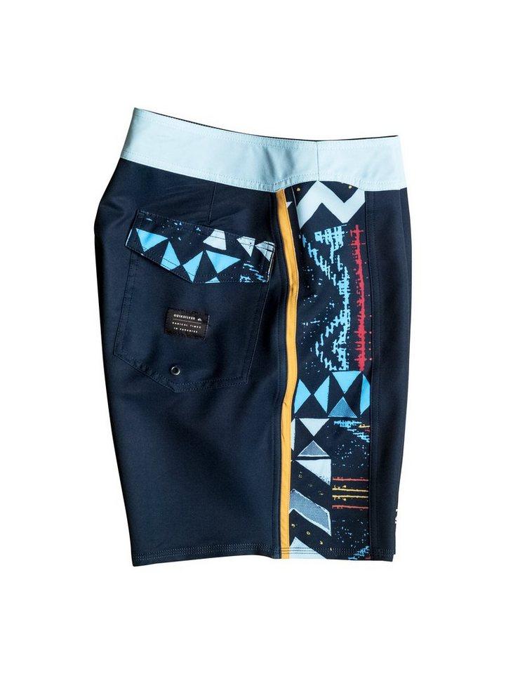 Herren Quiksilver Boardshorts Lapu Lapu Arch 18 – Boardshorts blau, schwarz | 03613372422409