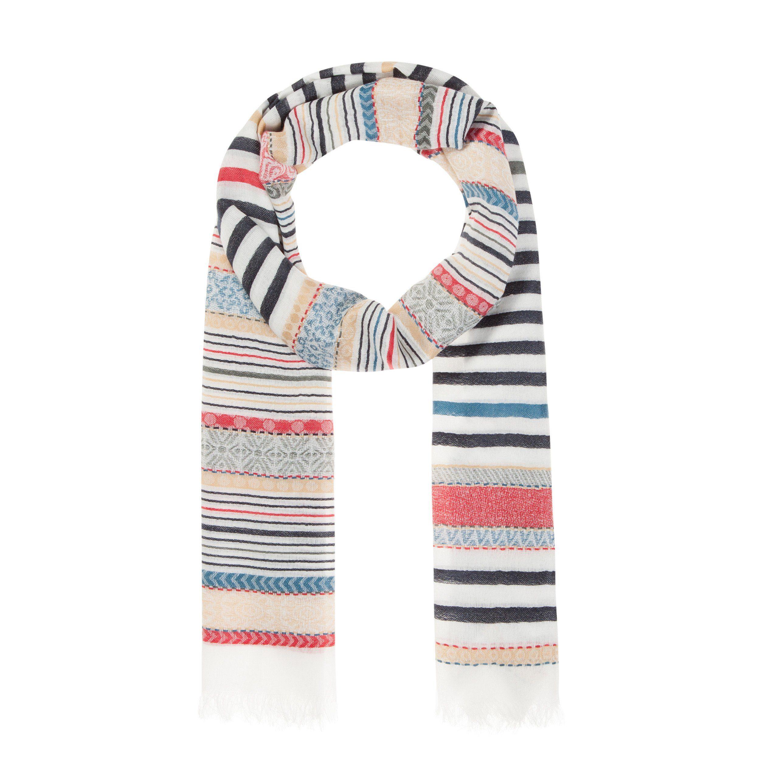 Codello Schal mit Streifen-Muster