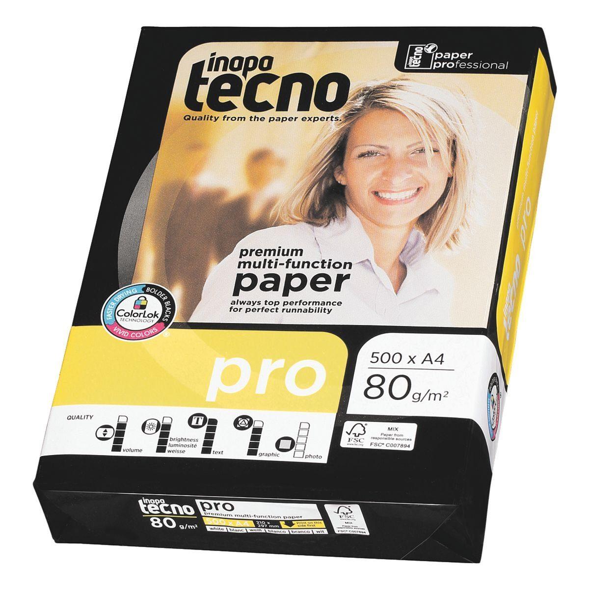Inapa tecno Multifunktionales Druckerpapier »Pro«