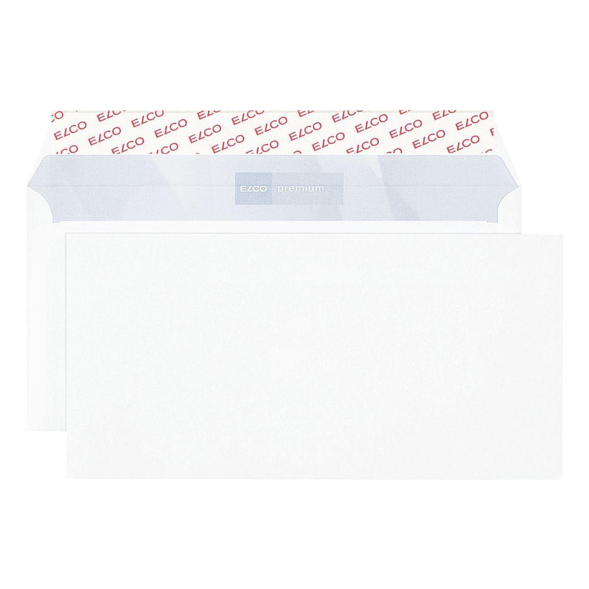 ELCO Briefumschläge DL+ ohne Fenster mit Haftklebung - 500 St...