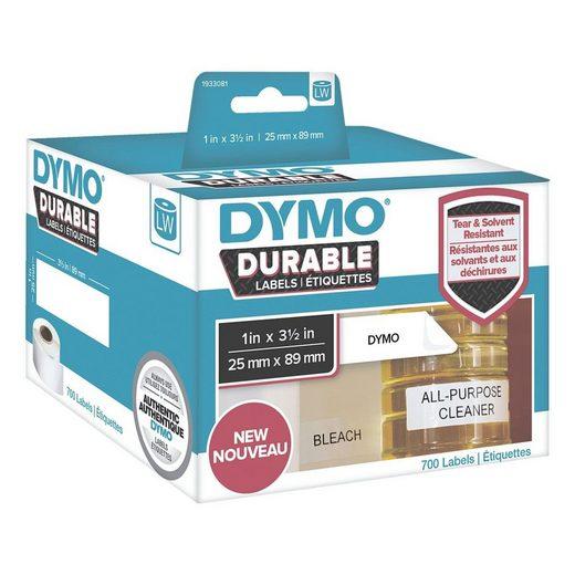DYMO LabelWriter Kunststoff-Etiketten 25 x 89 mm »1933081«