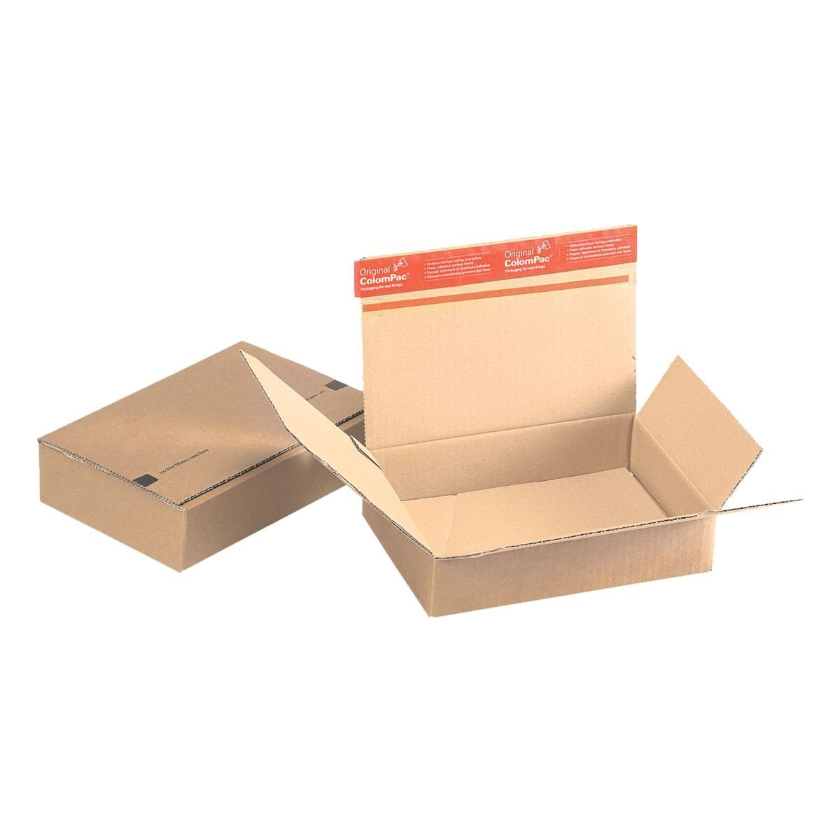 COLOMPAC Blitzbodenkartons 16,0/23,0/5,0 cm