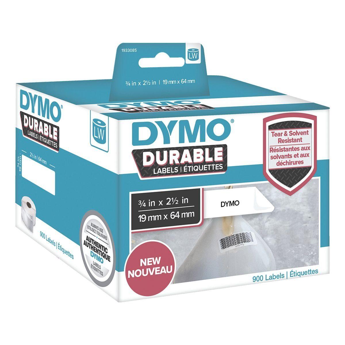 DYMO LabelWriter Kunststoff-Etiketten 19 x 64 mm »1933085«