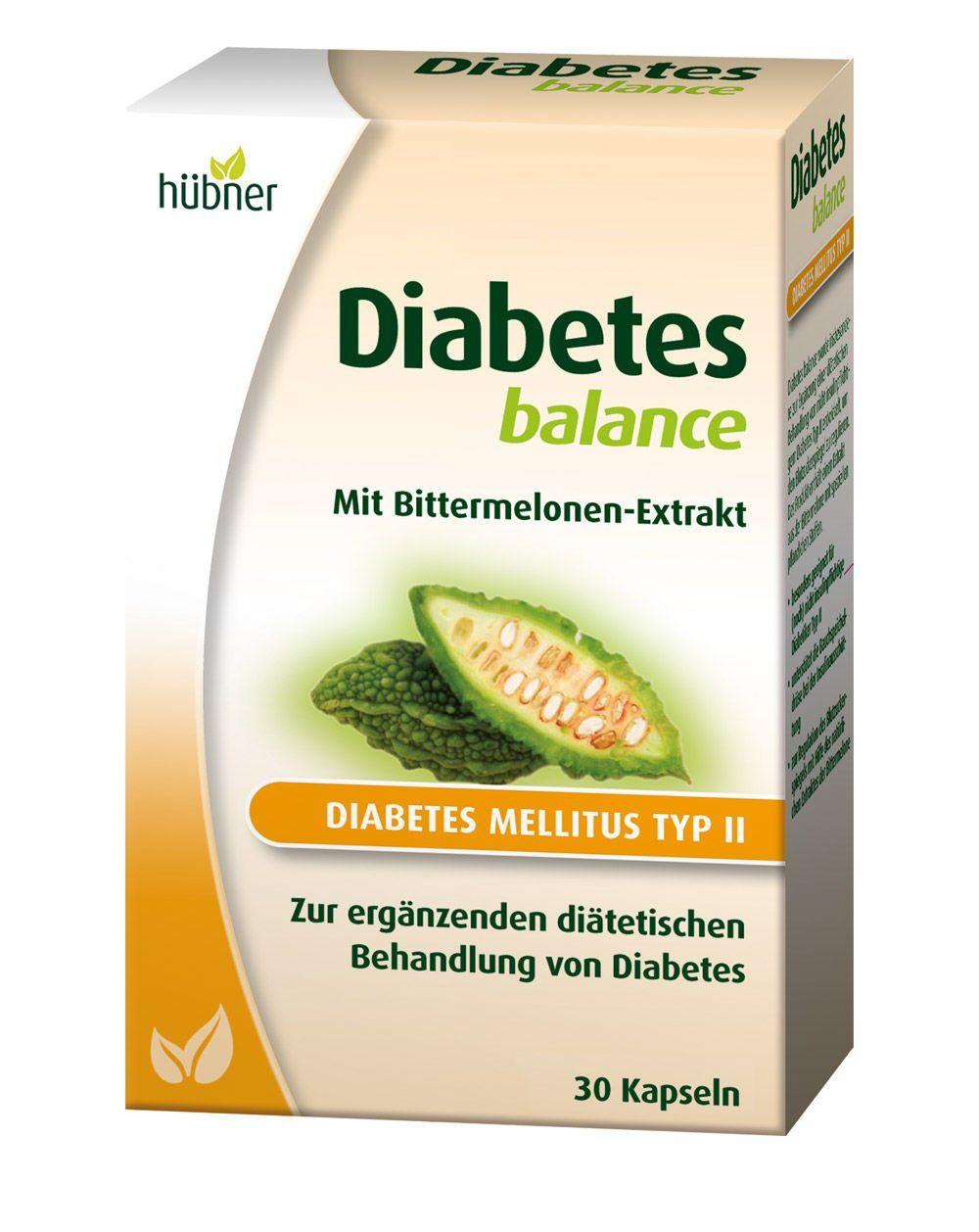 Anton Hübner GmbH & Co. KG Kapseln »Diabetes Balance®«