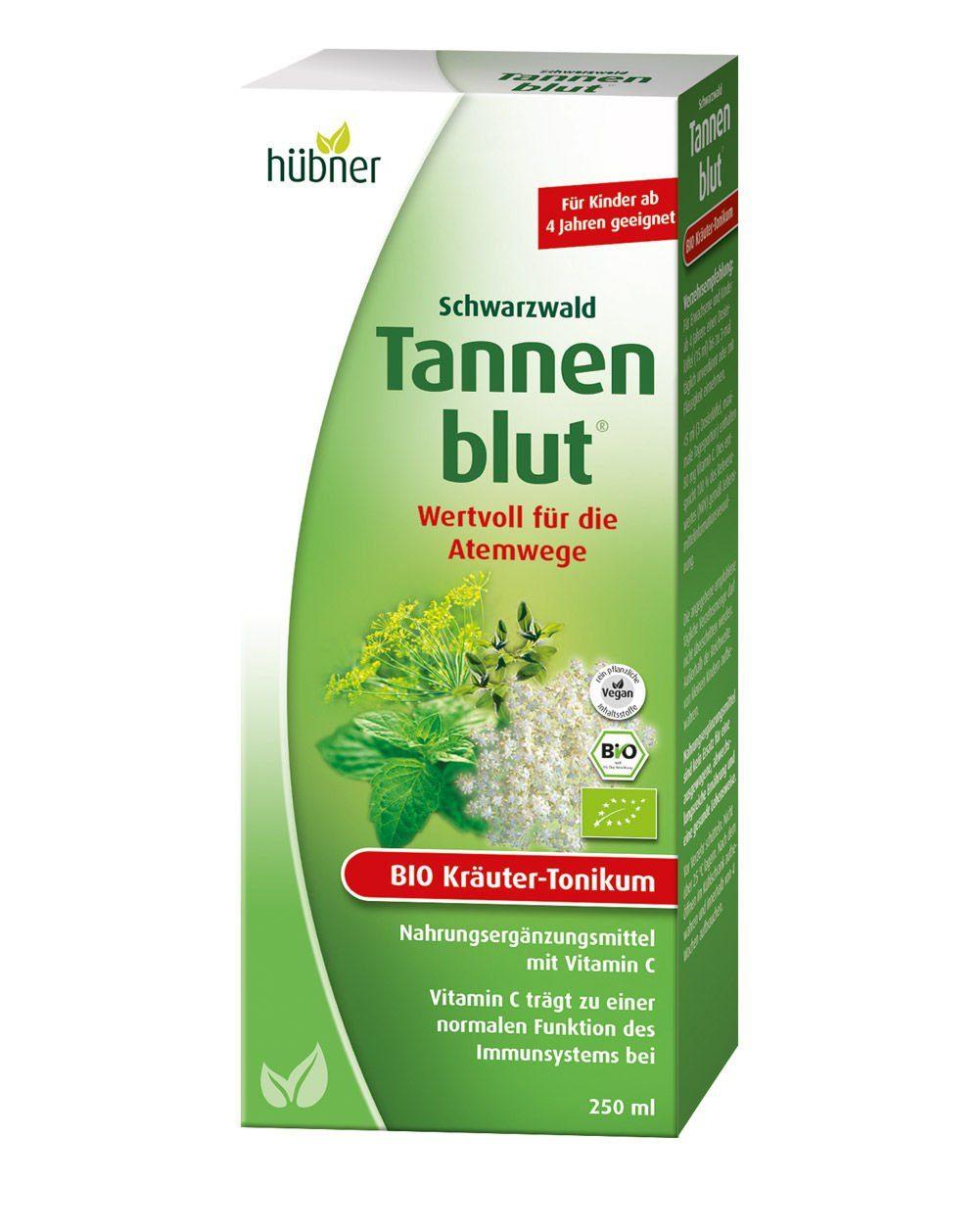 Anton Hübner GmbH & Co. KG Trinksaft »Tannenblut® Bio Kräuter-Tonikum«
