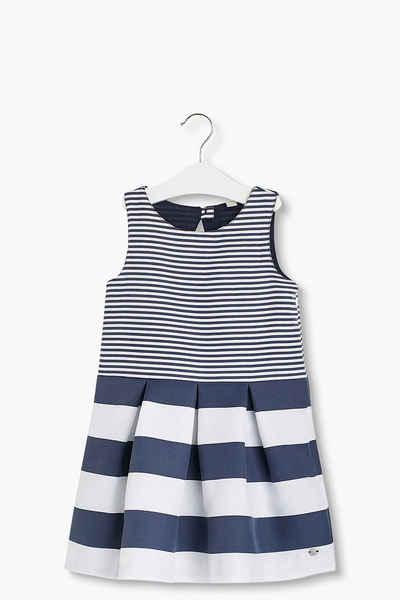 ESPRIT Gestreiftes Kleid aus festem Webstoff Sale Angebote Guteborn