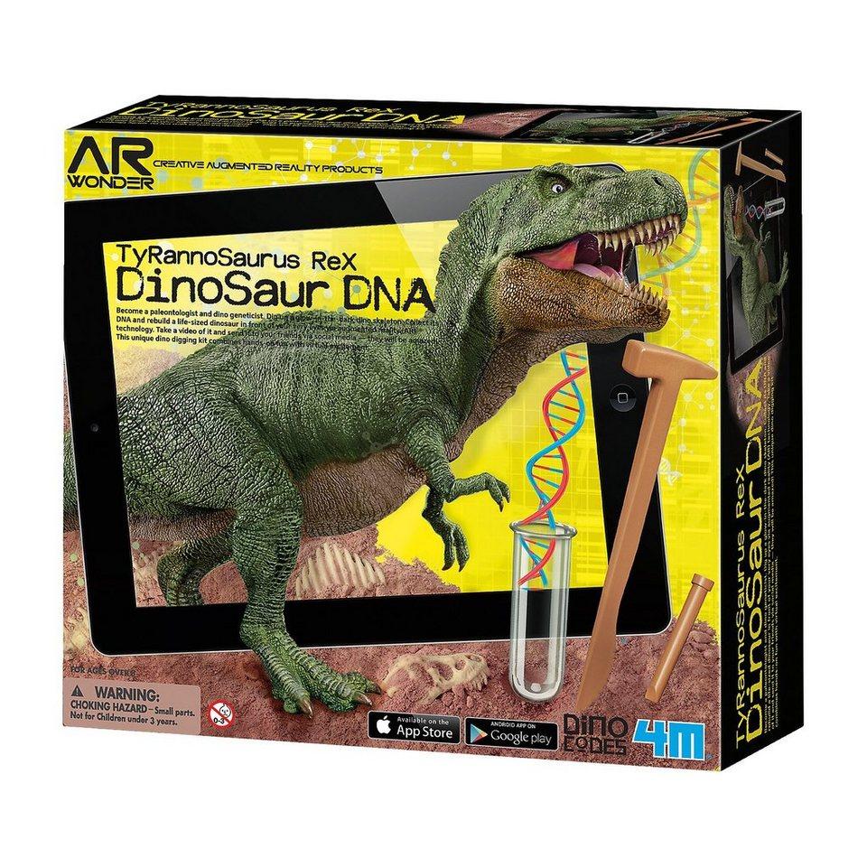 4M Ausgrabungsset Dinosaurier DNA - T-Rex (inkl. AR-Funkion) online kaufen