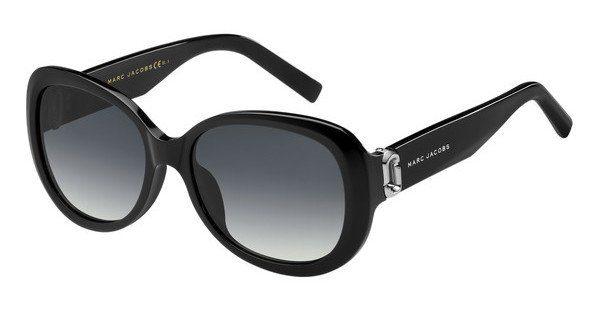 MARC JACOBS Marc Jacobs Damen Sonnenbrille » MARC 111/S«, schwarz, 807/9O - schwarz/grau