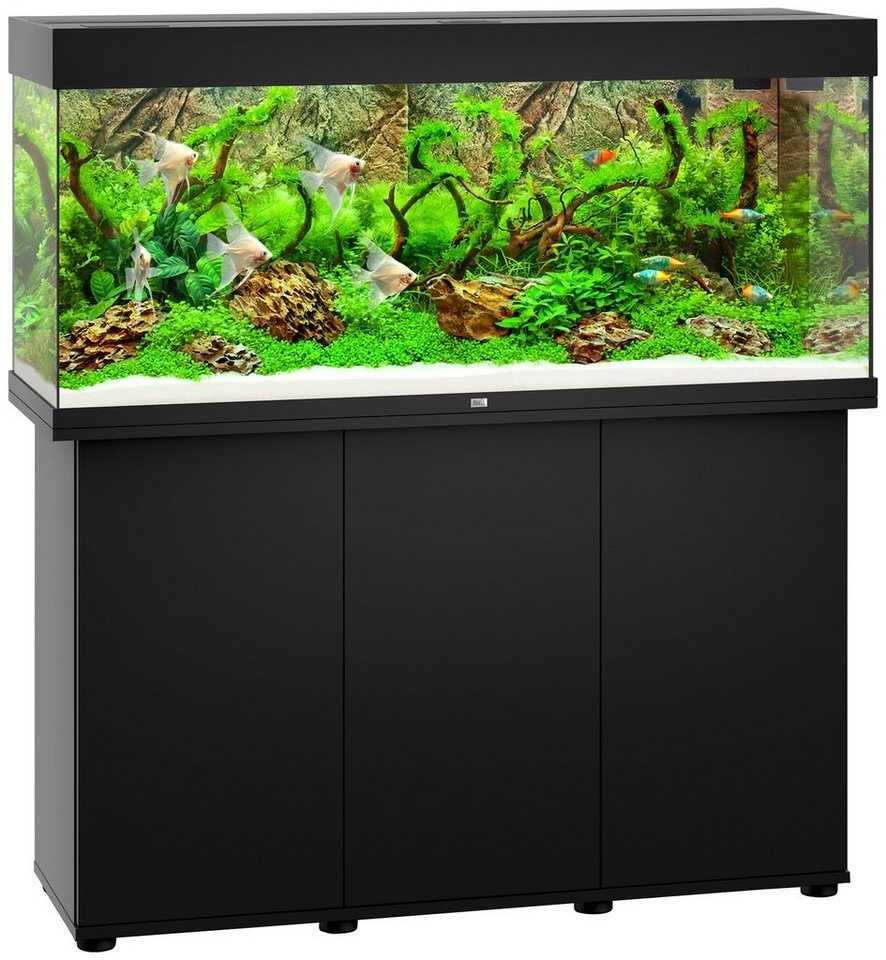 juwel aquarien aquarien set rio 240 led b t h 121 41. Black Bedroom Furniture Sets. Home Design Ideas