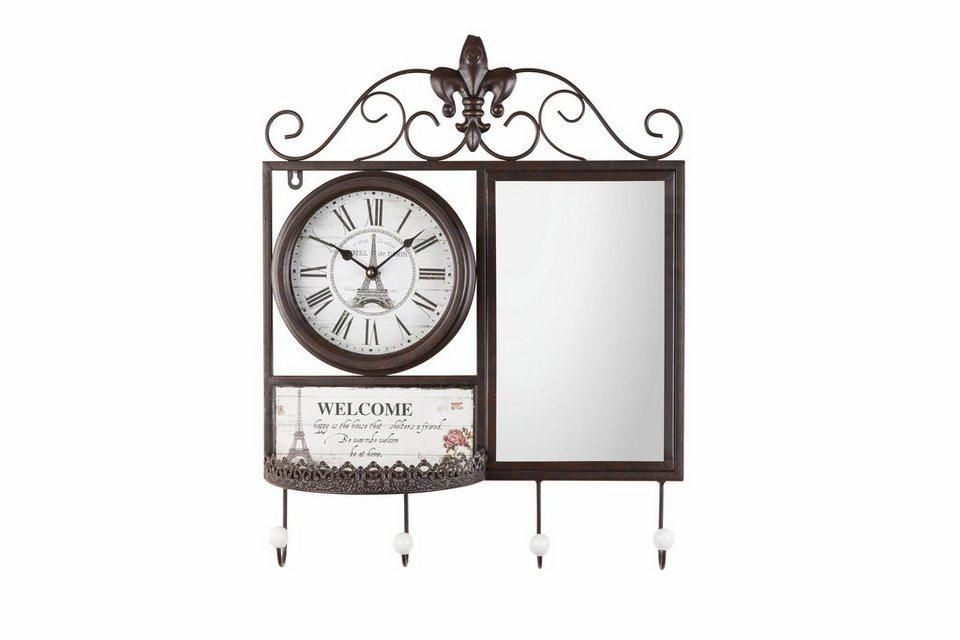 home affaire garderobe welcome mit uhr kaufen otto. Black Bedroom Furniture Sets. Home Design Ideas