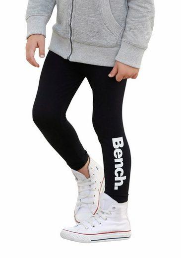 Bench. Leggings mit Logodruck