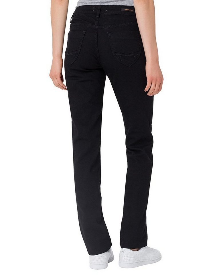 cross jeans regular fit jeans mit hoher leibh he rose. Black Bedroom Furniture Sets. Home Design Ideas