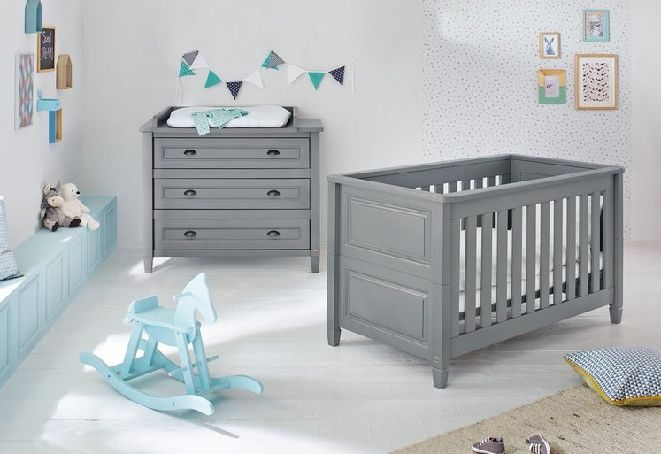 pinolino babyzimmer set 2 tlg sparset grisu breit online kaufen otto. Black Bedroom Furniture Sets. Home Design Ideas