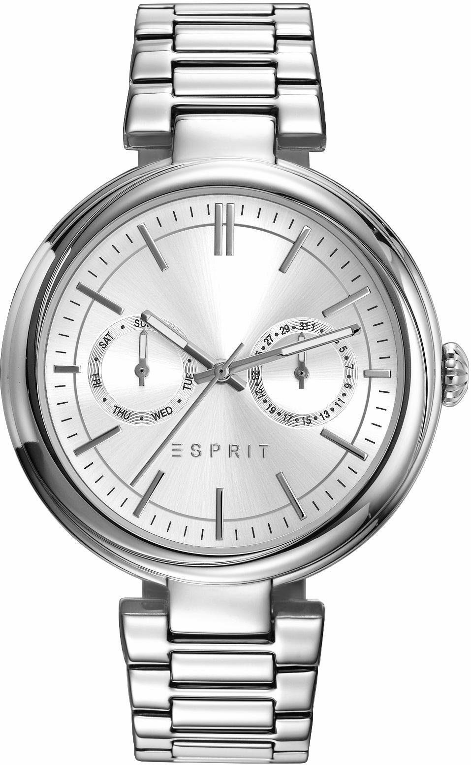 Esprit Multifunktionsuhr »ESPRIT-TP10951 SILVER TONE, ES109512001«