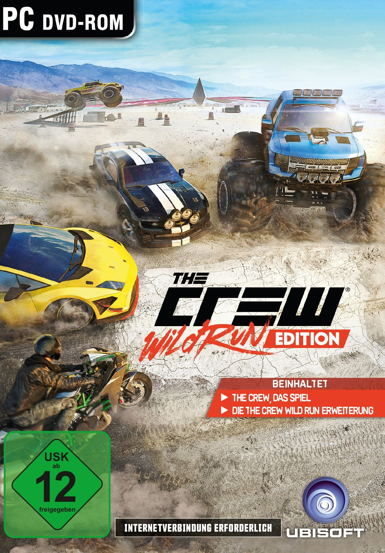 UBISOFT Software Pyramide - PC Spiel »The Crew - Wild Run Edition«