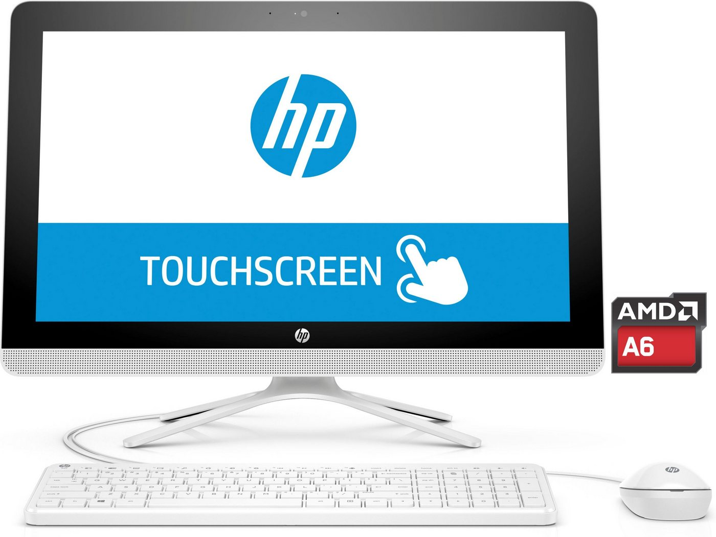 """HP All-in-One 22-b062ng »AMD A6 7310, 54,6cm (21,5"""") Touch, 1 TB, 4 GB«"""