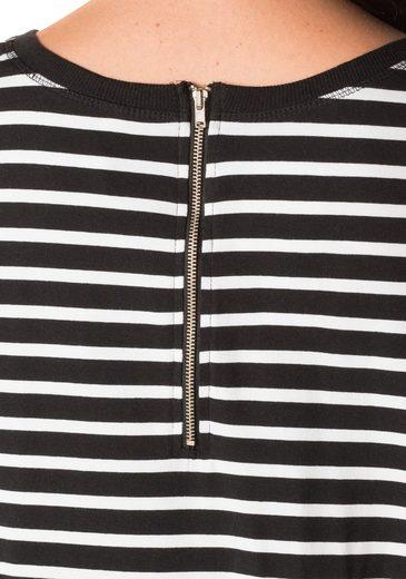 sheego Casual Longshirt, mit Streifen