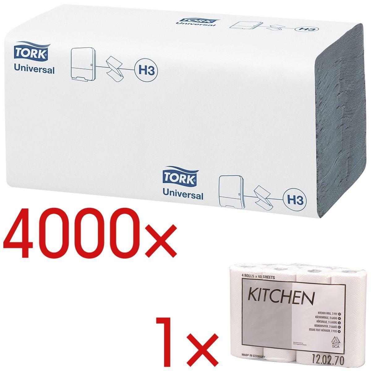 TORK Papierhandtücher inkl. Küchenrollen »Kitchen« 1 Set