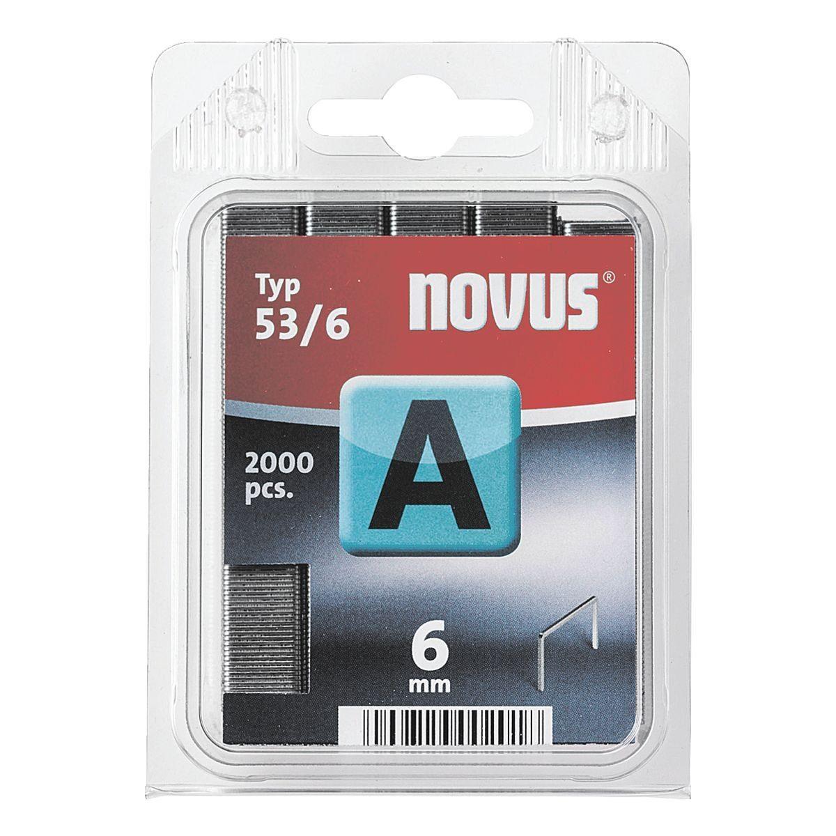 NOVUS Feindrahtklammern »HK53/6VZ«