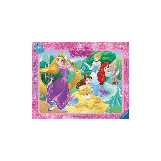 Ravensburger Rahmenpuzzle 35 Teile Disney Princes: Wunderschöne Prinzessi