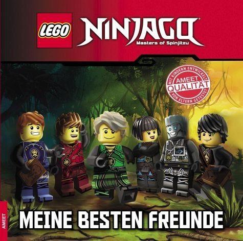 Gebundenes Buch »LEGO® NINJAGO®. Meine besten Freunde«
