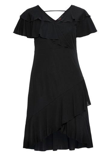 Anna Scholz for sheego Jerseykleid, mit schönem Rückenausschnitt