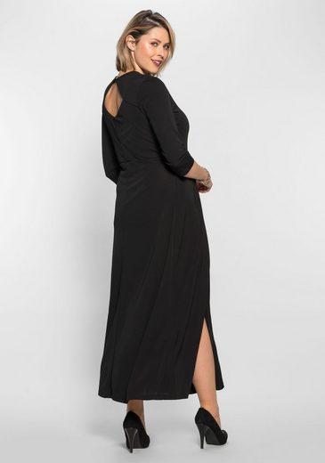 Anna Scholz for sheego Abendkleid, mit Rückenausschnitt