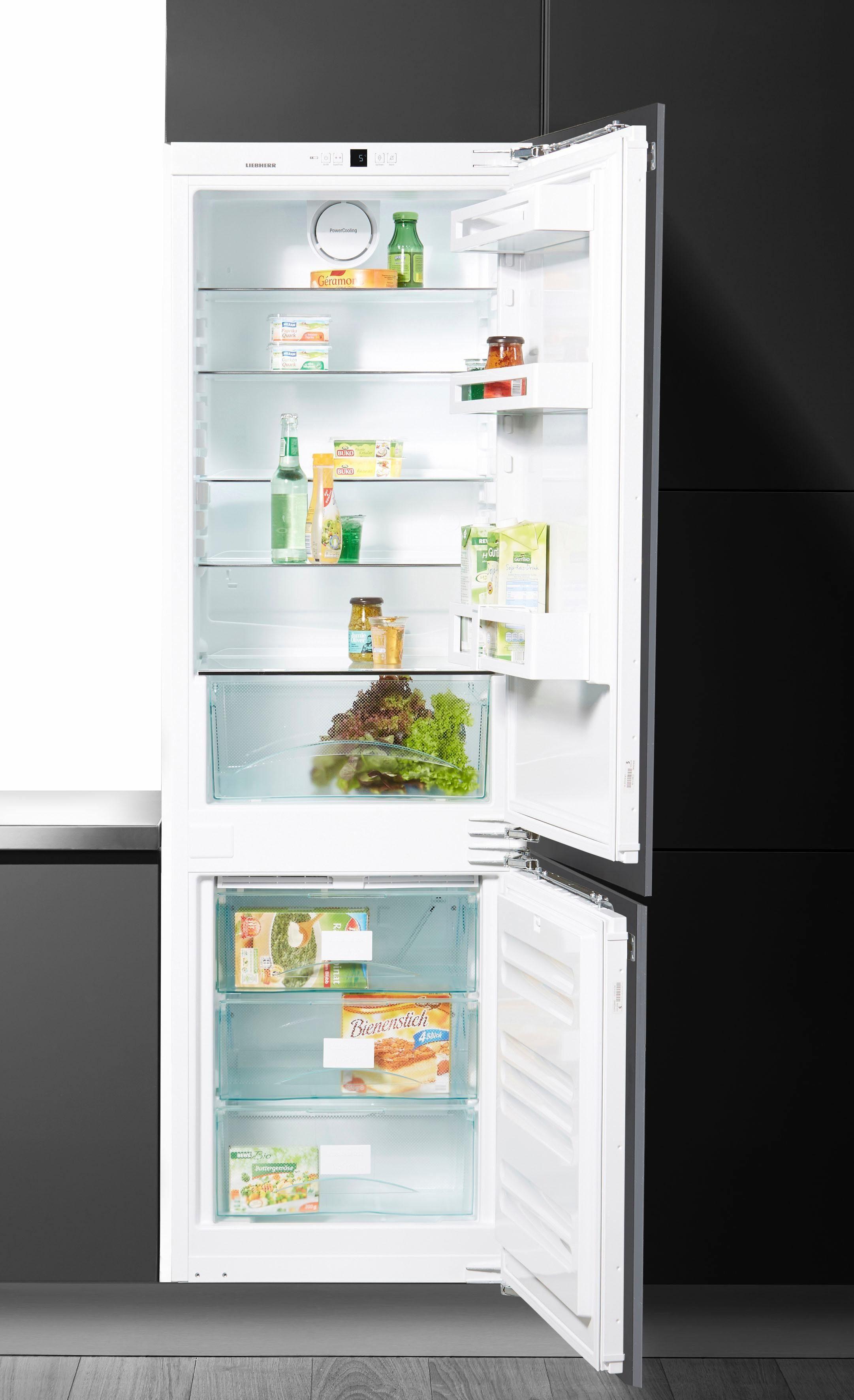 Liebherr integrierbare Einbau-Kühl-Gefrier-Kombination ICUN 3324, Energieklasse A++, 177 cm hoch