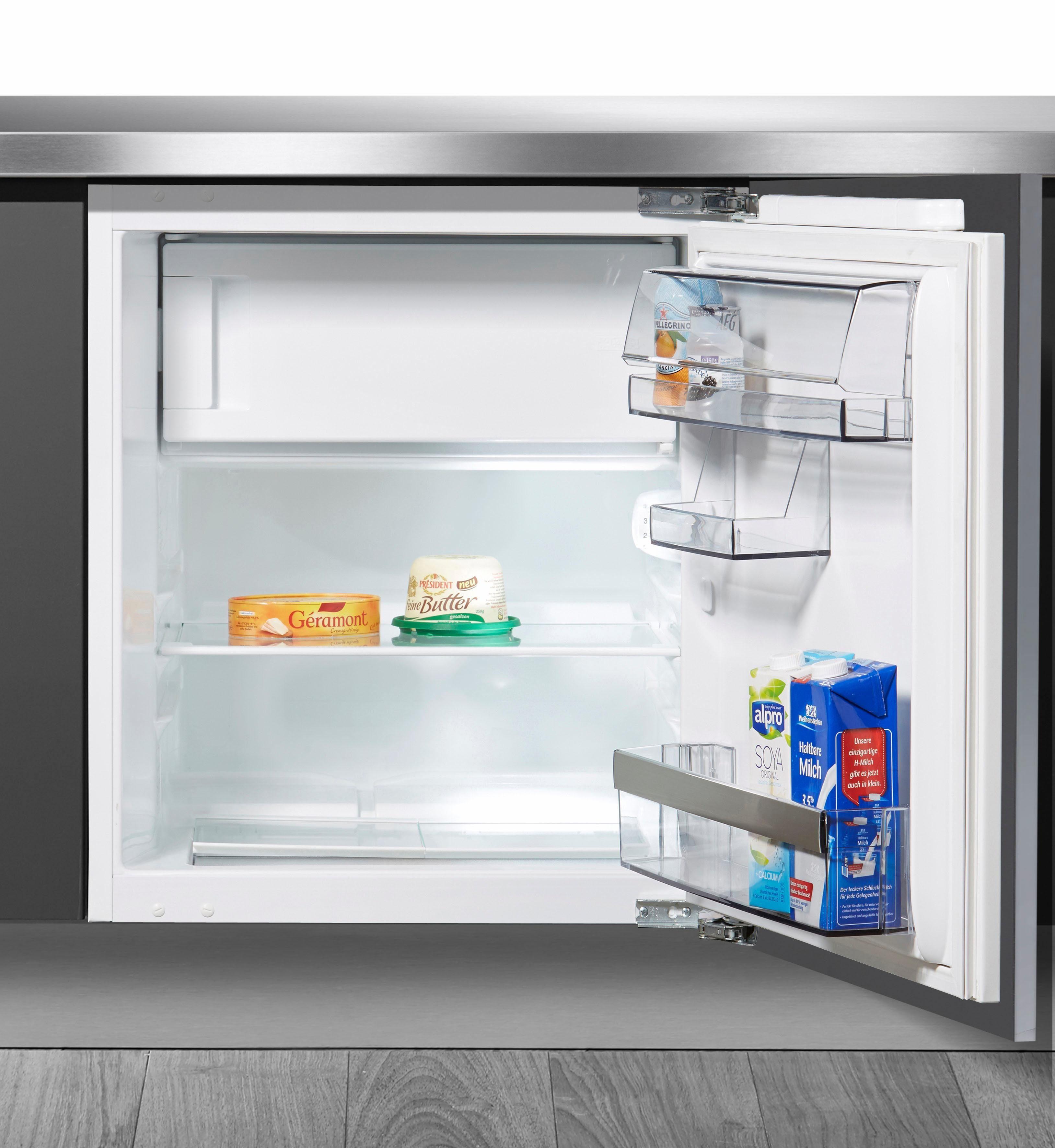AEG Einbaukühlschrank SANTO SFB58221AF, 81,5 cm hoch, 59,6 cm breit, Energieklasse A++, 81,5 cm hoch, integrierbar