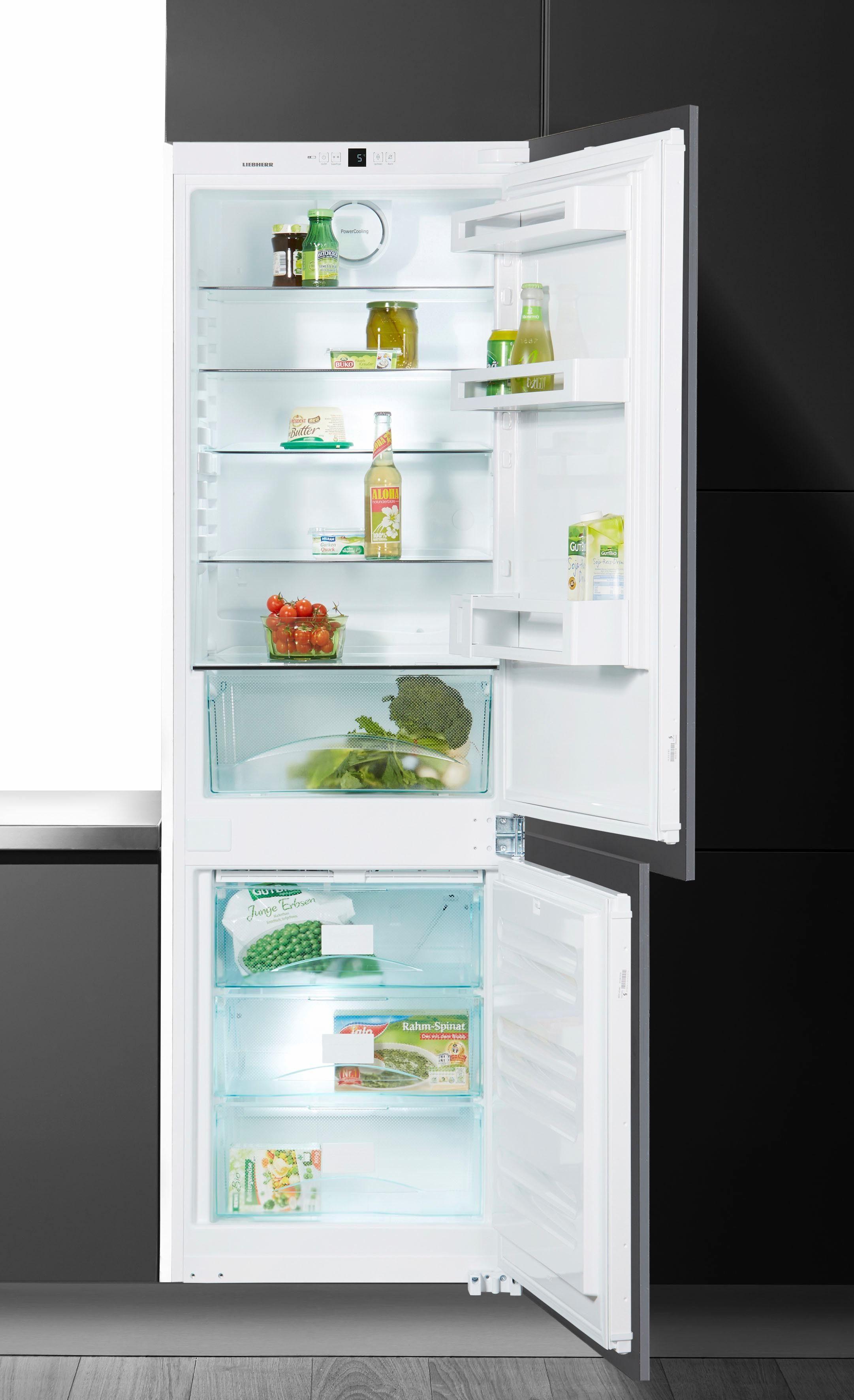 Liebherr integrierbare Einbau-Kühl-Gefrier-Kombination ICUNS 3324, Energieklasse A++, 177 cm hoch