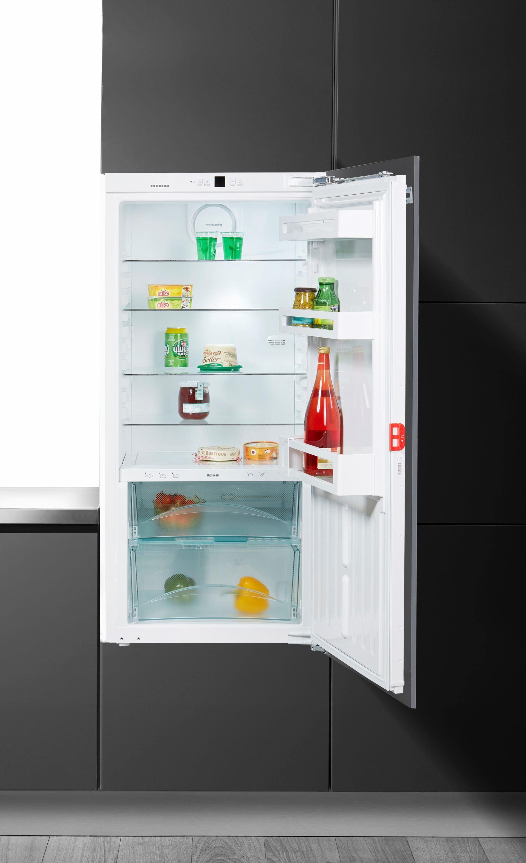 Liebherr Einbaukühlschrank IKBP 2320, 121,8 cm hoch, 55,9 cm breit, Energieklasse A+++, 121,8 cm hoch, BioFresh, integrierbar