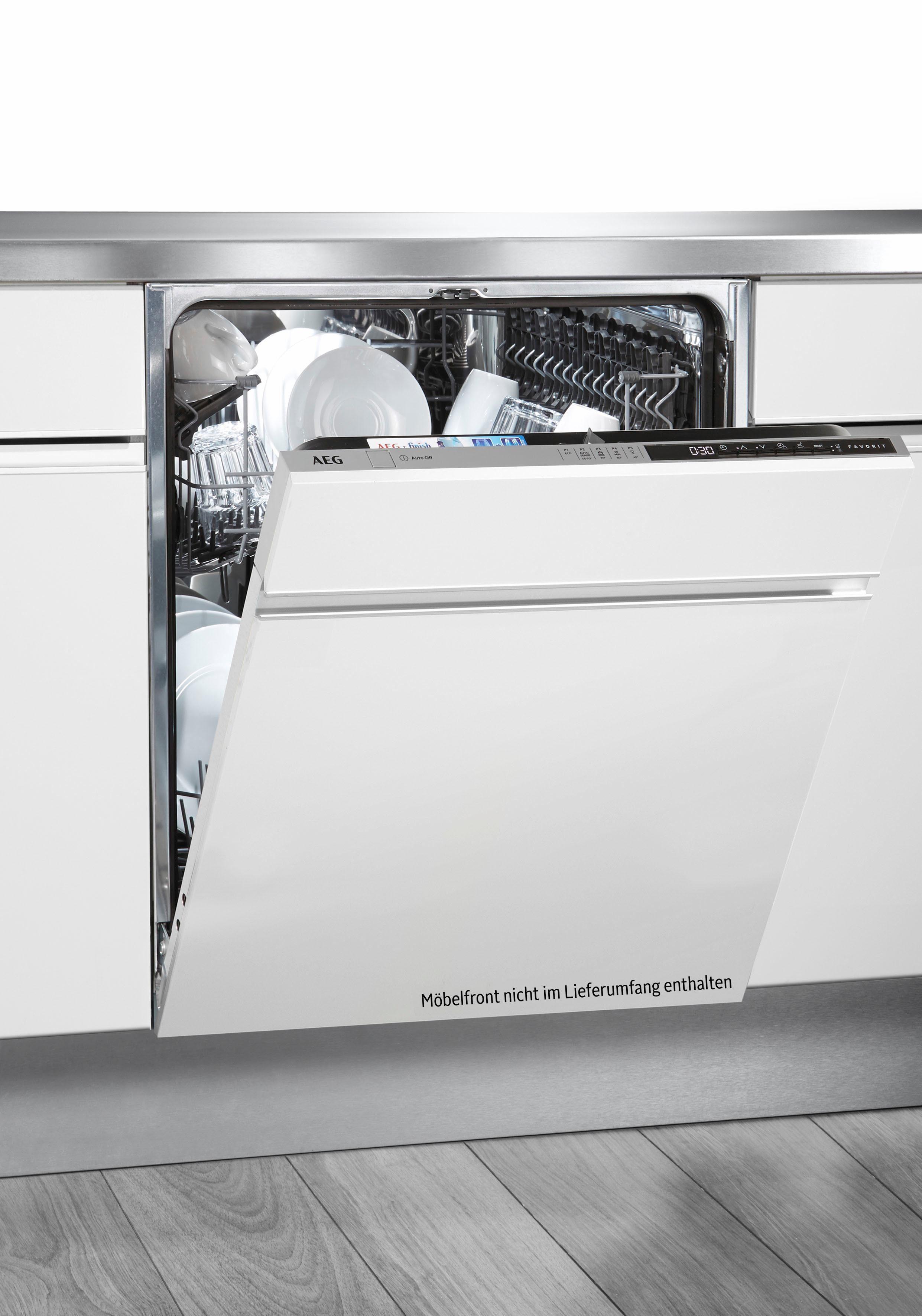 AEG vollintegrierbarer Geschirrspüler, FSB52600Z, 9,9 l, 13 Maßgedecke