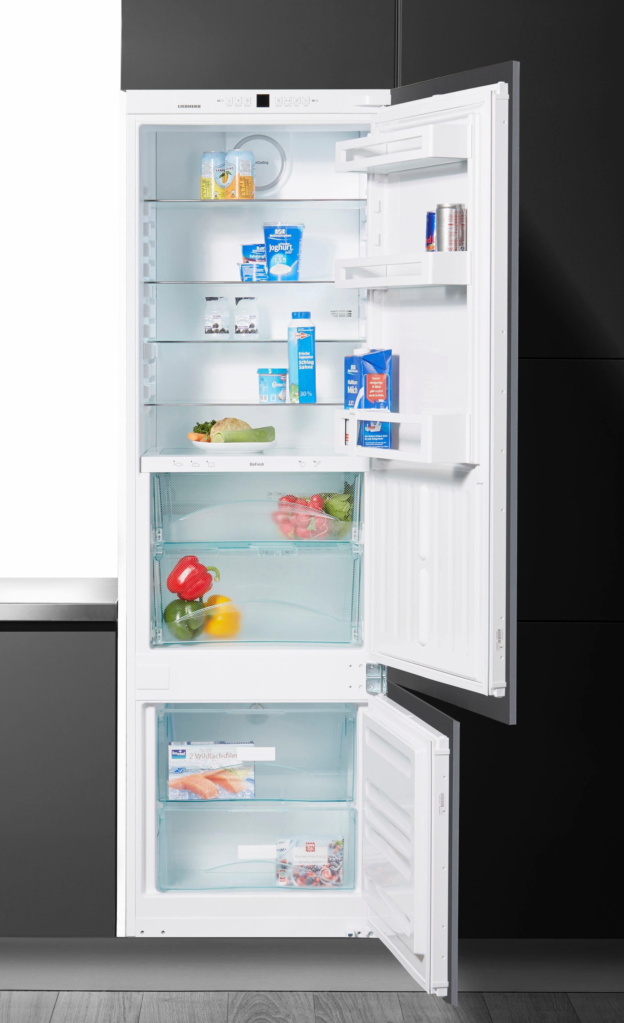 Liebherr integrierbare Einbau-Kühl-Gefrier-Kombination ICBS 3224, Energieklasse A++, 177 cm hoch