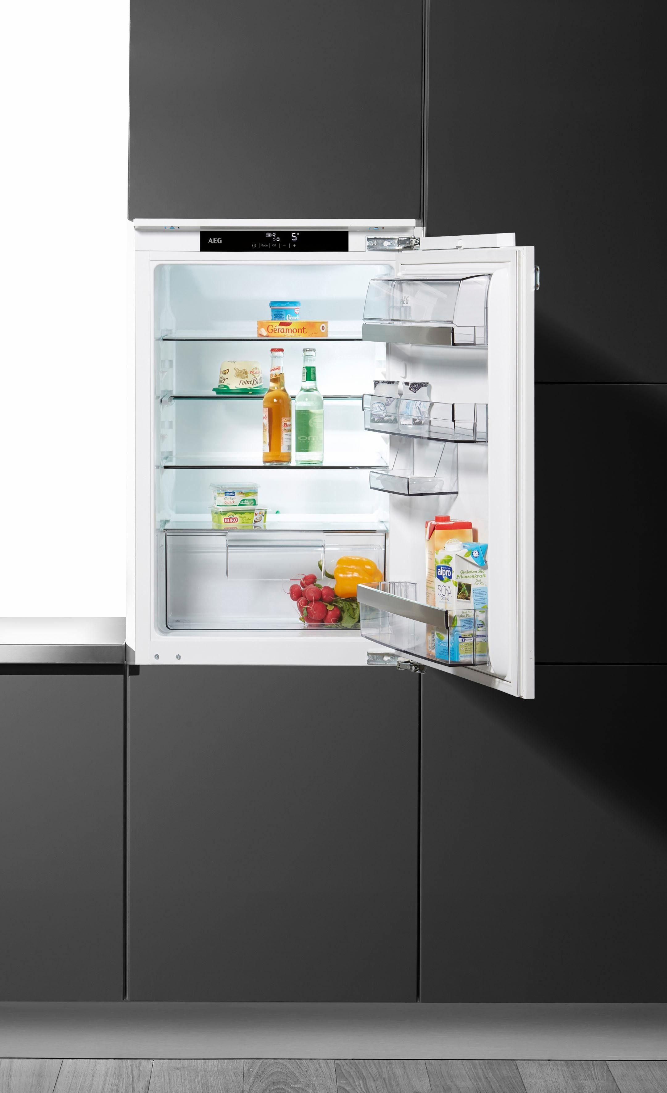 AEG Einbaukühlschrank Santo SKE88831AF, 87,3 cm hoch, 56,0 cm breit, Energieklasse A+++, 87,3 cm hoch, integrierbar