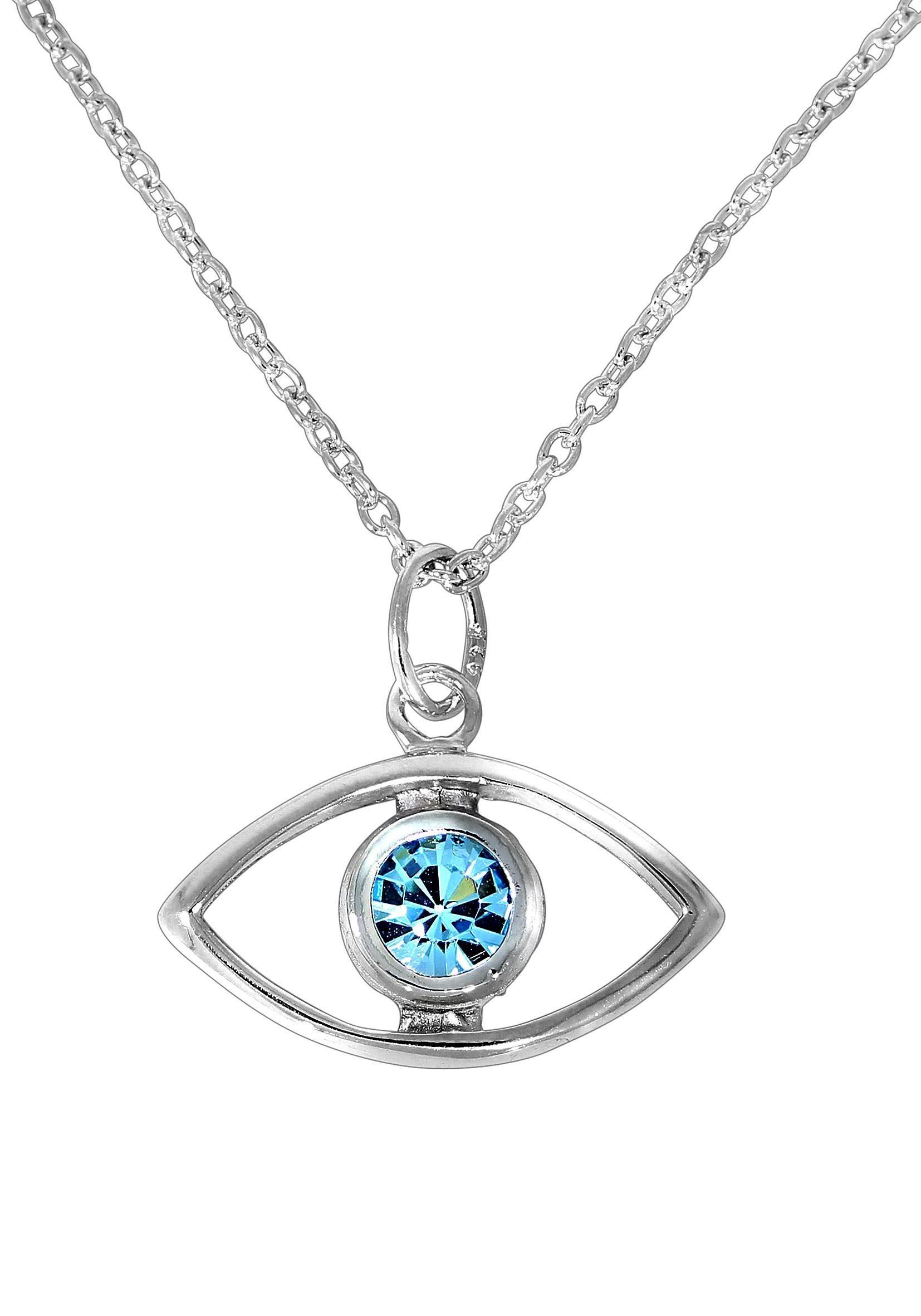 Firetti Kette mit Anhänger »Magisches Auge«, mit Kristallstein